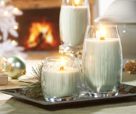 Decorating with Yankee Candles